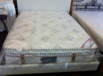 Premium pocket spring with wave foam euro pillow top king-single mattress