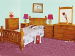 Victoria double bed