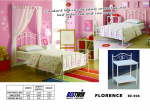 BE-906 Florence metal bed