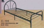chippen single bed