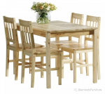 Diamond Timber Dinning Set 5 pcs